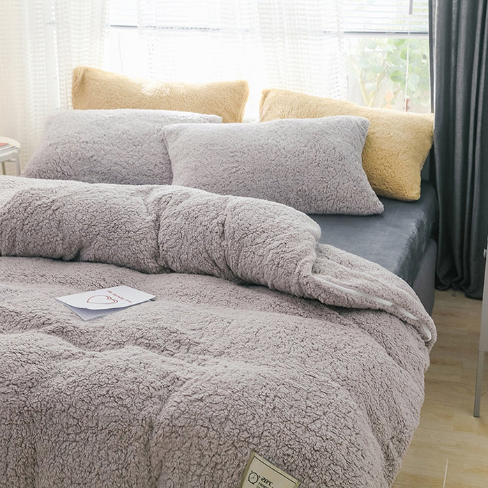 Home Textiles Cashmere Bedding Set