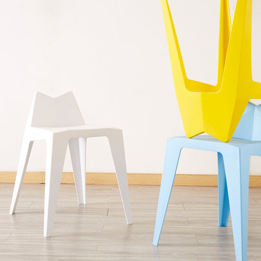 INS Plastic Dining Stool Low Back