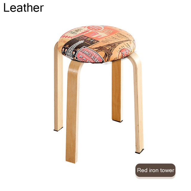 INS Nordic Solid Wood Dining Stool
