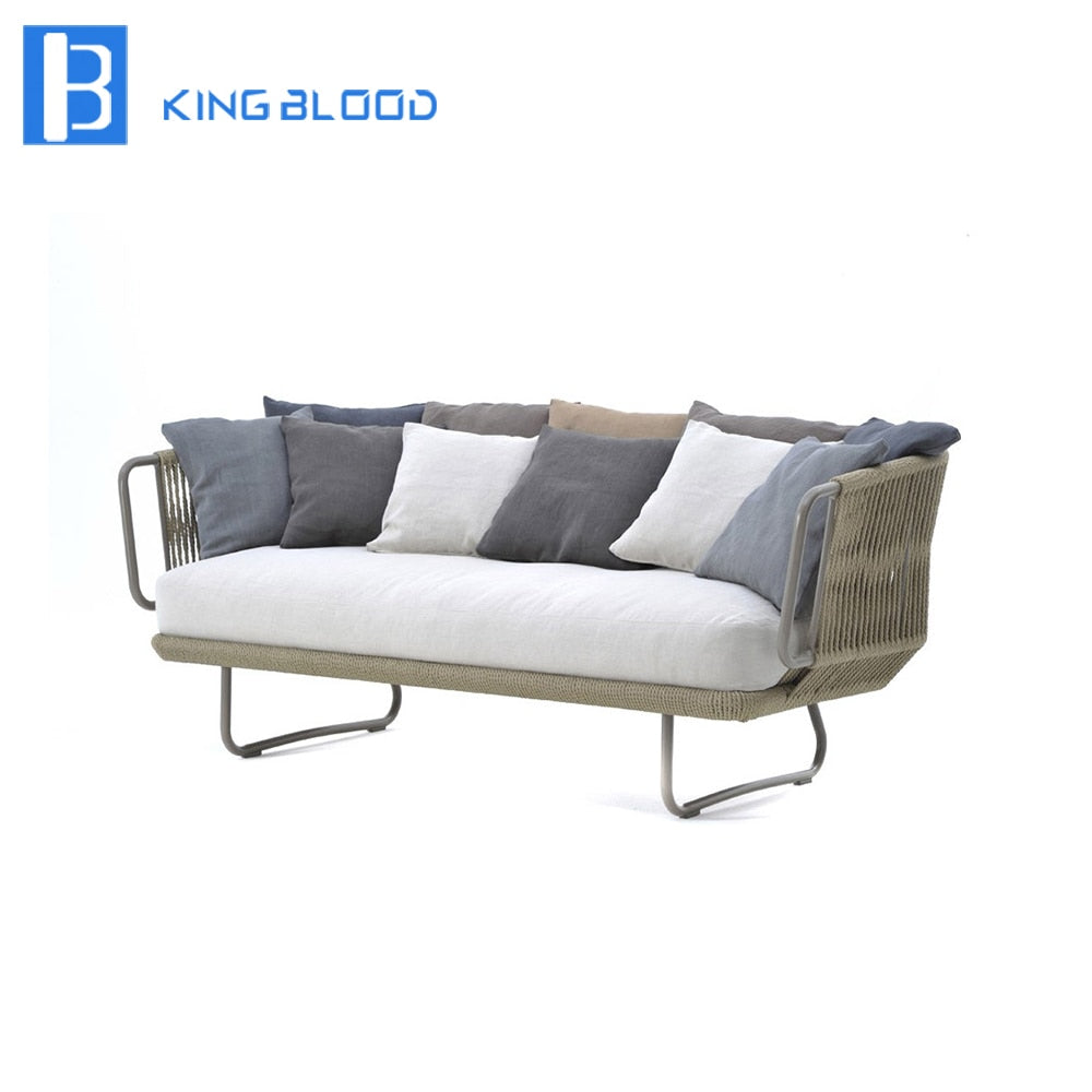 NOVO Handmade Outdoor Woven Rope Sofa for Garden