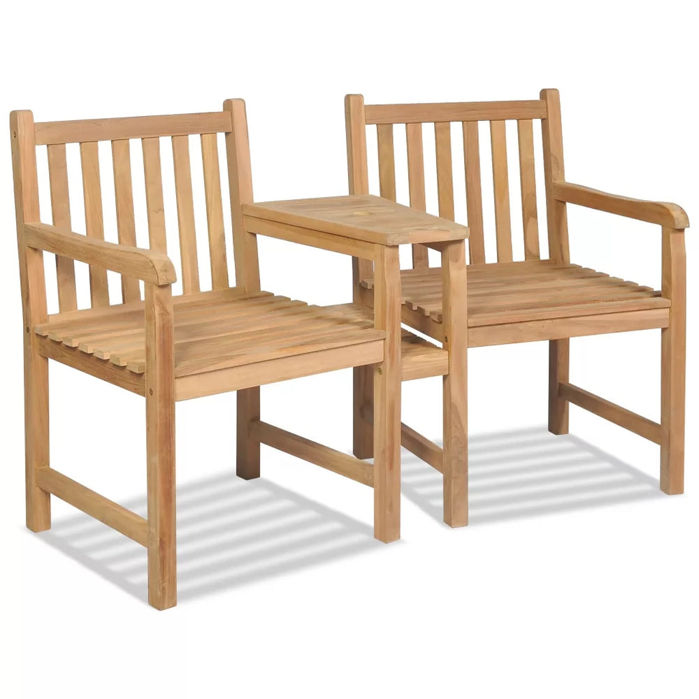 2019 New Arrival: TEAK Outdoor Chairs 2 pcs