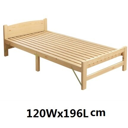 Solid Wood Folding Single Bed Frame