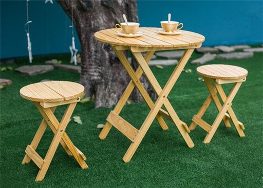 SIMM Wooden Garden Set