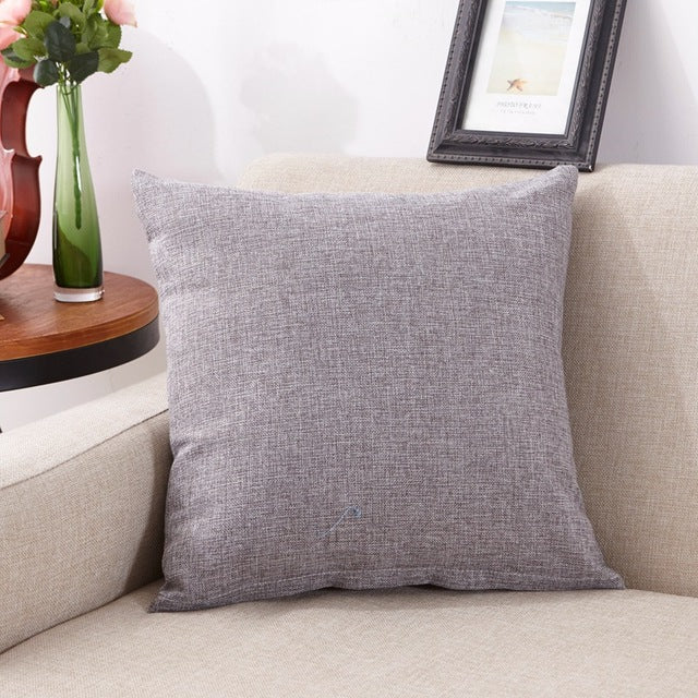ROMANCE New Home Decor Cotton Throw Cushion