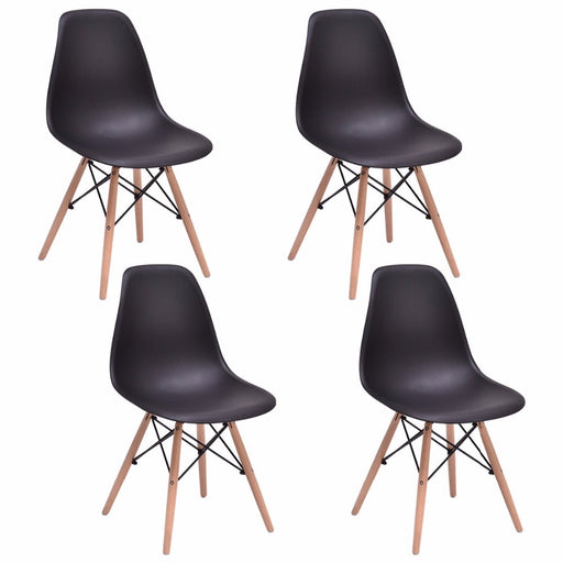 Giantex 4PCS Mid Century Modern Dining Chairs