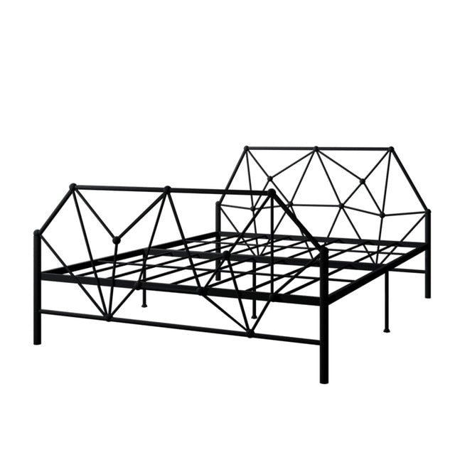 Contracted Iron Art Bed Frame