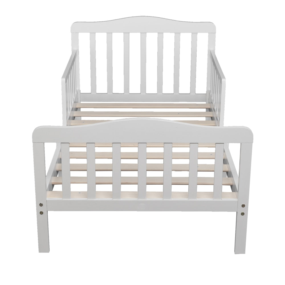 Classic Design Wooden Baby Toddler Bed