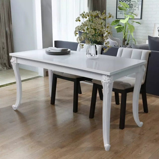vidaXL Luxury Dining Table 120x70x76 cm