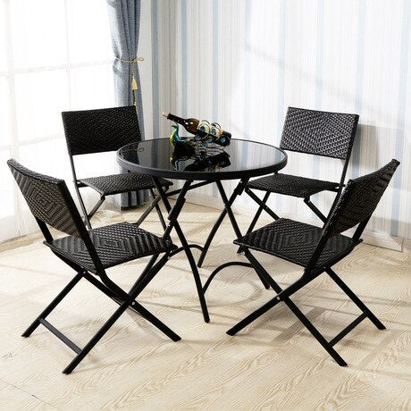 MUEBLES 5PCS Garden Set Outdoor Furniture