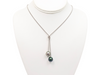 """Toi & Moi"" pearl necklace - Sterling silver - CDTAXX1590"