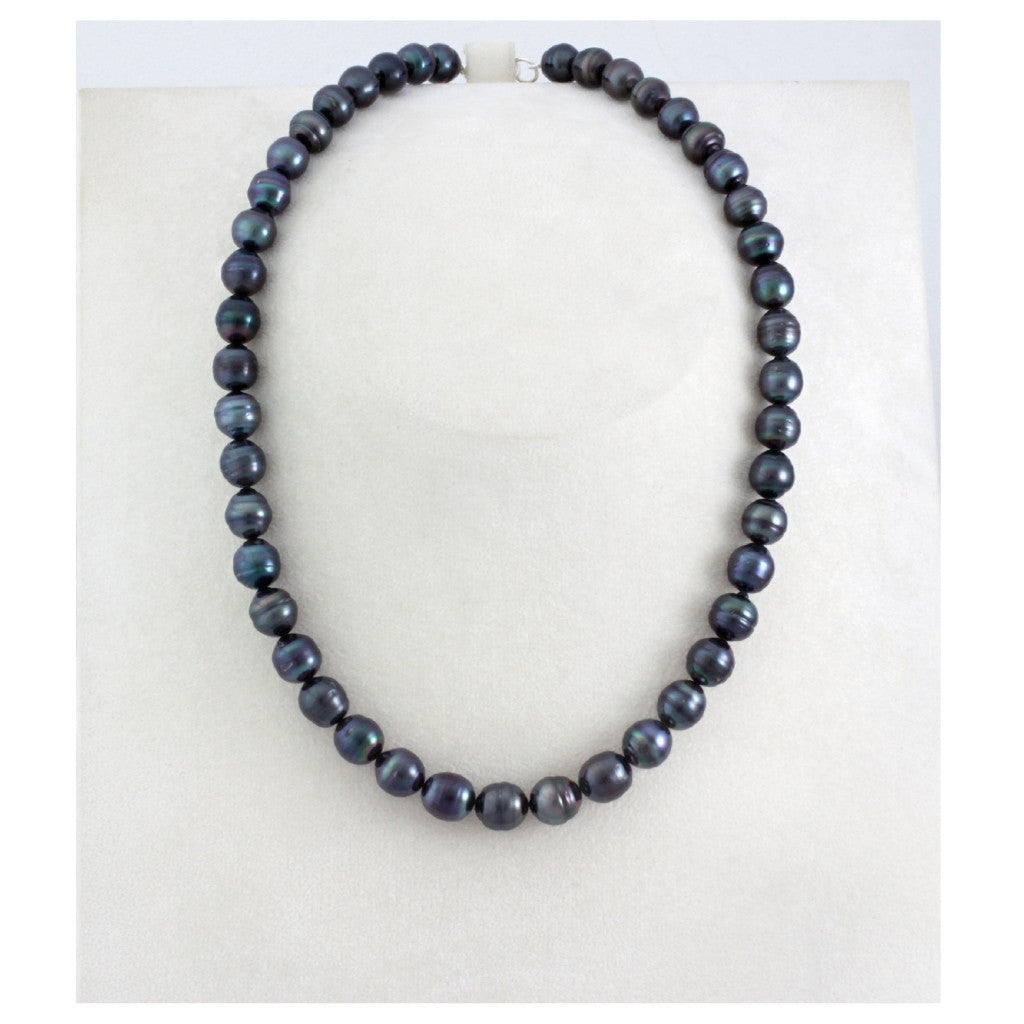 Tahitian pearl strand - Silver clasp - NESVPE01133