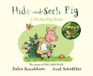 Hide and Seek Pig lift flap Book