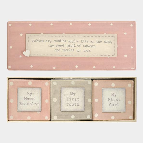 Keepsake Box set Pink
