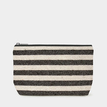 Load image into Gallery viewer, Washbag Wide Stripe Linen