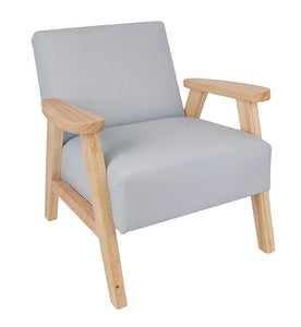 Childs Fabric and Wood chair