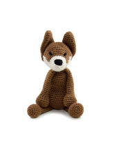 Load image into Gallery viewer, Esme Fox Crochet animal