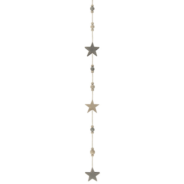 Garland with Beads and Stars