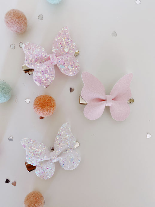 Mimi Rose butterfly clips