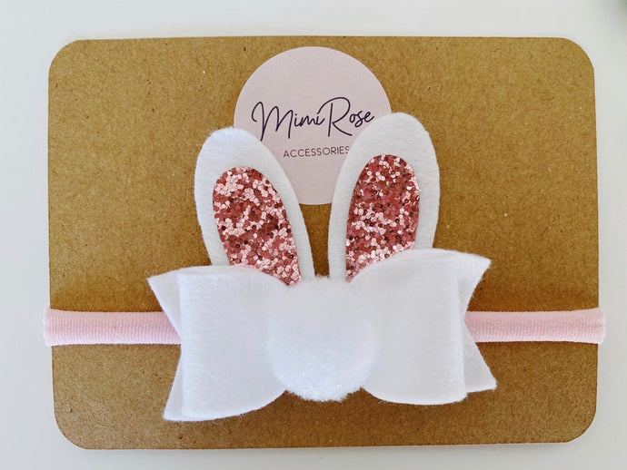 Mimi Rose Bunny bow large