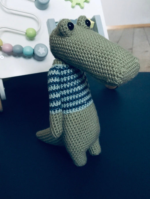 Juke the Croc Crochet animal