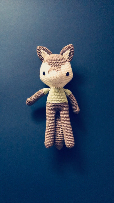 Bill the Wolf Crochet animal