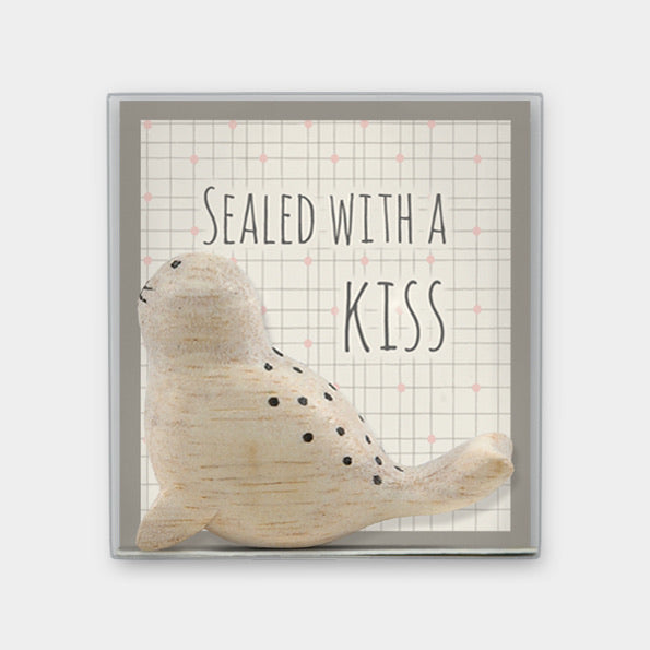 Boxed Seal - Sealed with a kiss