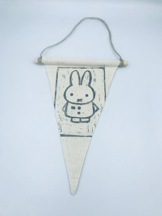 Miffy pennant flag wall hanging
