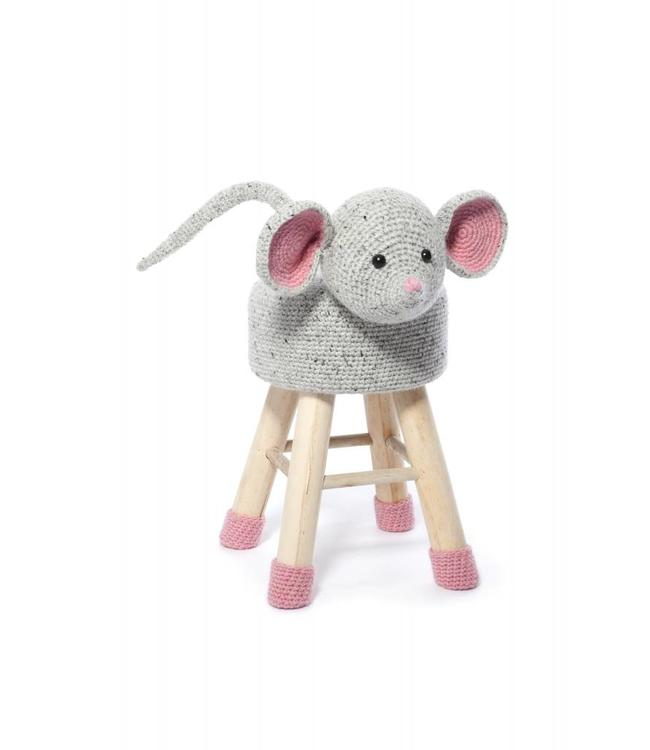 Mouse Crochet Stool and Socks