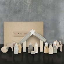 Load image into Gallery viewer, Wooden Nativity Set large