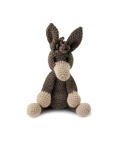 Samuel Donkey Crochet Animal