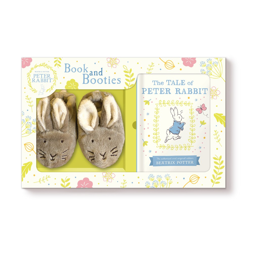 Peter Rabbit Book & Booties