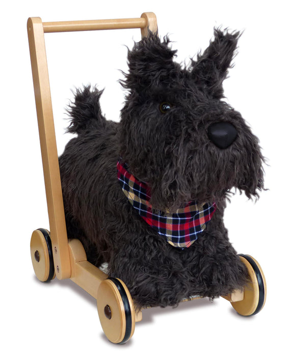 Scotties Dog Push Along