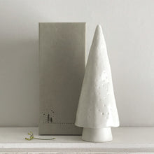 Load image into Gallery viewer, Conical Christmas Tree ceramic