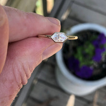Load image into Gallery viewer, .40 Carat Dutchess Cut Diamond Ring