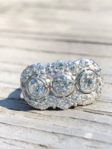 1.90ctw Antique Diamond Ring