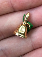 Load image into Gallery viewer, 14k Gold Bell Charm