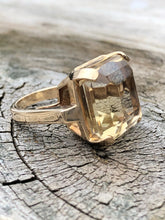 Load image into Gallery viewer, 14k Yellow Gold Citrine Ring