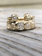 Load image into Gallery viewer, 2.58ctw Antique Cushion Cut Burnish Set Ring
