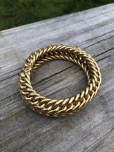 Load image into Gallery viewer, 18k Gold Italian Woven Bracelet