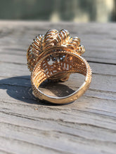 Load image into Gallery viewer, 18k Gold French Diamond Ring
