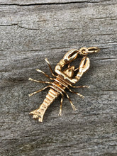 Load image into Gallery viewer, 14k Gold Lobster Charm