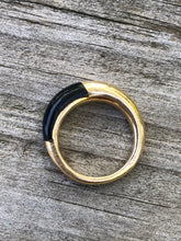 Load image into Gallery viewer, Cartier 18k and Black Onyx Ring