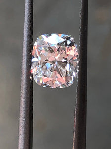 GIA 1.10 G SI1 Cushion Cut Diamond