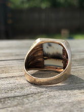 Load image into Gallery viewer, 14k Moss Agate Ring