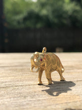 Load image into Gallery viewer, 18k Elephant Charm