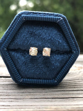 Load image into Gallery viewer, .66 Carat Diamond Stud Earrings