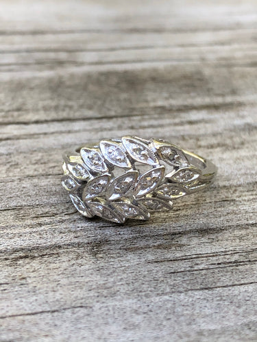 .30 carat 14k White Gold Diamond Ring