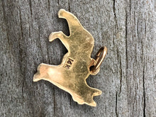 Load image into Gallery viewer, 14k Gold German Shepherd Charm
