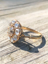 Load image into Gallery viewer, 1.39ctw Antique Diamond Cluster Ring