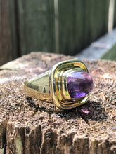 Load image into Gallery viewer, 14k Gold 3.20 carat Amethyst Ring